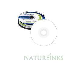 100 MediaRange 8cm Mini Discos en Blanco Imprimible DVD-R 1.4GB 4x DVD Camcorder MR430