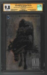 Dark Knights III The Master Race #8 signed x4 Miller Kubert CGC 9.8 White DC