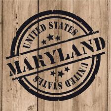 Vinilo de Corte Maryland Pegatina Maryland USA United States 10 cm Adhesivo Moto