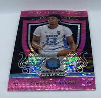 2019-20 Prizm Draft Cameron Johnson Rookie Crusade Pink Shimmer Prizm SP Suns RC