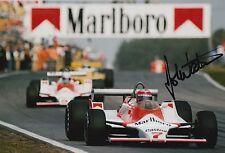 John Watson Hand Signed Photo 12x8 McLaren, Brabham F1 8.