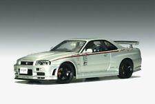 Auto Art 1/18 80180 Nissan Skyline GTR R34 Nismo Z-Tune 2001 Silver Diecast