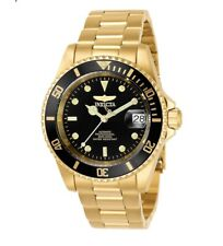 Invicta Professional Pro Diver 200M Automatic Gold Black Dial 8929OB Men's Watch