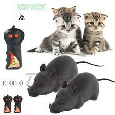 New listing Funny Pet Cat Dog Electric Rc Rat Mouse Wireless Remote Control Interactive Toy