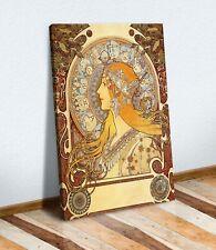 CANVAS WALL ART PAINTING PRINT WOMEN ART NOUVEAU DECO Alphonse Mucha Zodiac