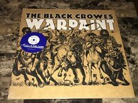 Black Crowes Rare Warpaint Limited Edition Reissue Blue Colored Vinyl LP Record