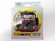 YGK - G-SOUL X4 Upgrade PE 200m 8lb #0.4 GREEN