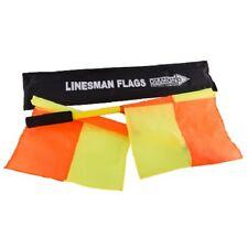 Diamond Football Linesman Flags Set Football Rugby Hockey Training Referee Flags
