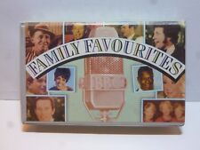Family Favourites Cassette Tapes Bing Crosby, Jim Reeves, Shirley Bassey, Doris