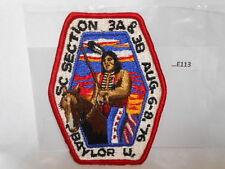 SC SECTION 3A & 3B  BAYLOR U. AUG 6-8, '76  E113