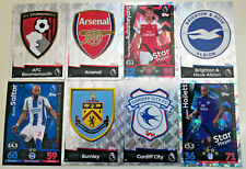 MATCH ATTAX 2018/19 18/19 cards #  1-90 Arsenal Cardiff Burnley Brighton Bourne