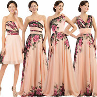Formal Short/Long Evening Ball Gown Party Prom Bridesmaid Dresses Wedding STOCK