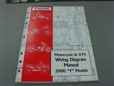 "Suzuki Motorcycle & Atv Wiring Diagram Manual 2000 "" Y "" Models 99923-54000"