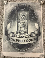 Rare Sierra Nevada Brewing Company Torpedo Room Beer Poster