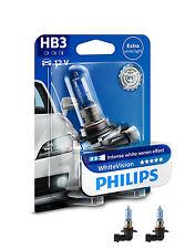 Philips HB3 WhiteVision 3700K Bombilla Juego de 2 9005whvb1 NUEVO