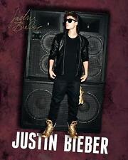 Justin Bieber : Altoparlanti - Mini Poster 40cm x 50cm nuovo e sigillato