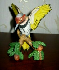 NORTHERN FLICKER  - Bird Figurine - 1997 Lenox Porcelain - Pristine!