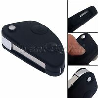 2 Button Flip Remoto Keyless Entry Remote Case Shell for ALFA Romeo 147 156 GT