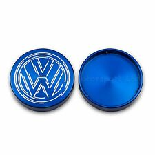 Vw Golf Mk2 GTI 8V 16V, G60 Top Suspension Strut Cap Covers VW in Blue