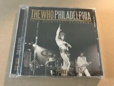 PHILADELPHIA (2CD)  by WHO, THE  Compact Disc Double  LFM2CD634 rare live show