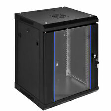 18U Wallmount Data Cabinet Enclosure 19