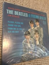 THE  BEATLES & FRANK IFIELD   VEE - JAY   MONO  rare counterfeit from 1960s