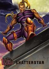 SHATTERSTAR / Marvel Onslaught Ultra (1996) BASE Trading Card #36