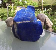 XXL Lapislazuli Skulptur Anschliff  blau 1673g tolle Deko Heim und Garten