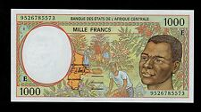 CENTRAL AFRICAN STATES 1000 FRANCS  1995 CAMEROUN PICK # 202Ec UNC  BANKNOTE