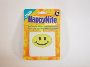 GE happy face night lite light