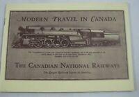 Modern Travel in Canada Canadian National Railway 1972 Railroad Historical Assoc