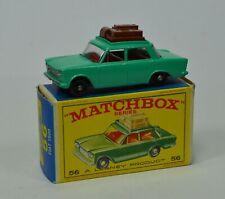VINTAGE MATCHBOX No56 Fiat 1500 w/Original Box BIN