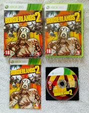 Borderlands 2 XBOX 360 /  Pal Fr . dvd sans éraflure . tbé