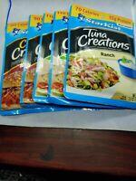 StarKist Tuna Creations Deli Style Tuna Salad Single Serve Package 5 pack. G14