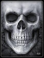 Fleecedecke Totenkopf - Solemn Skull - Decke Fleece Fantasy Schädel
