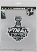 LOT OF 10 - NY RANGERS / L.A. KINGS - 2014 NHL STANLEY CUP FINALS JERSEY PATCH