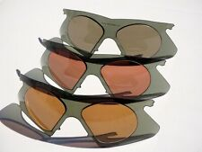 3 Oakley M Frame RX Lenses without correction rare vintage old school no romeo