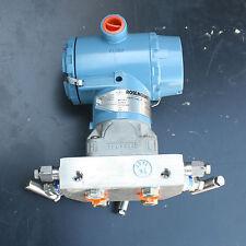 Rosemount 3051 CD4A02A1BM5K7P1S5Q408 Pressure Transmitter 0305RC32B11B4 Manifold