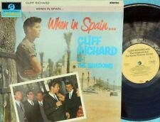 Cliff Richard & Shadows DUT Reissue LP When in Spain NM EMI Teen idol Rock Pop