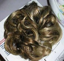 "Curly 5"" Pony Tail Scrunchieon Elastic Hair Piece NWT Color CHOCOBLONDE"