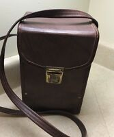 Vintage Brown  Camera Case With Strap