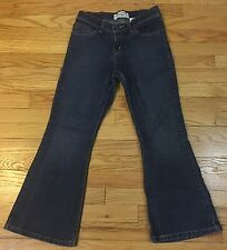 Levi Strauss Signature Girls Plus Size Low Rise Flare Jeans. 10.5