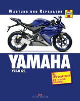 YAMAHA YZF R 125 Reparaturanleitung Reparaturbuch Reparatur-Handbuch Buch NEU