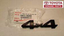 Toyota TUNDRA TRD PRO 4X4 Black Painted Emblem  - OEM NEW!