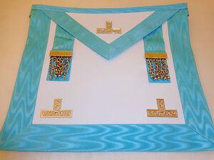 Leather Worshipful Master Masonic Apron