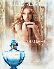 Publicité Advertising 068  2015  Guerlain   souffle de parfum Shalimar N. Vodian