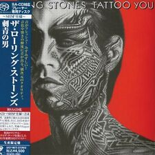 THE ROLLING STONES - Tattoo You - Japan MINI LP Super Audio CD  SACD UIGY-9073