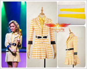 Musical Fancy Dress Heathers Costume Women Pop Rock Star Outfit School Dress