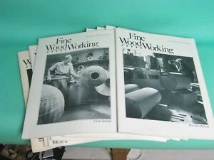 (1042B) (10) Early Issues of Fine Woodworking Magazine