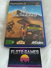 Jeu Paris-Dakar Rally pour Sony Playstation 2 PS2 Complet CIB - Floto Games